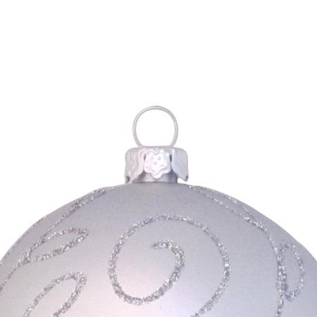 Arbre de Noël Argent brilliant 240cm-1641
