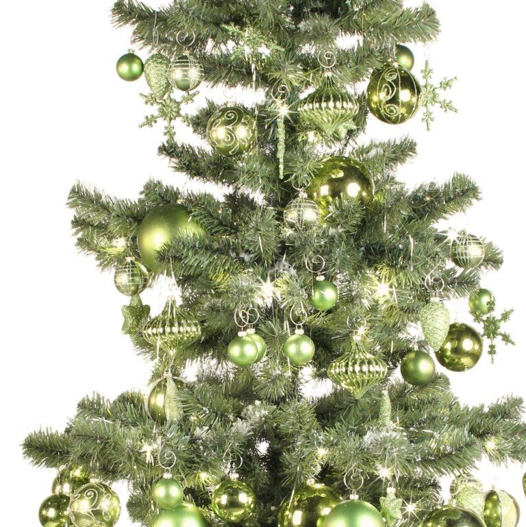 Arbre de Noël Vert rafraîchissant 180cm-1956