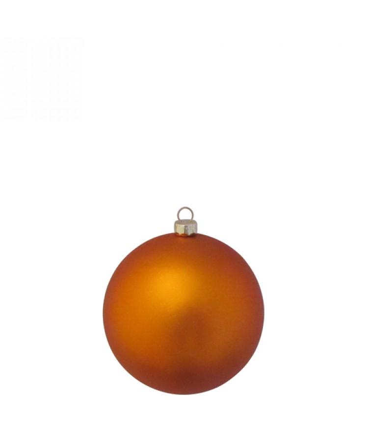Sélect boules de noël 8cm Cuivre-1161