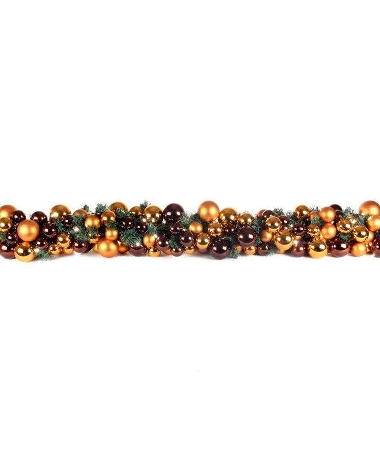 Guirlande de luxe Cuivre 200cm-1511