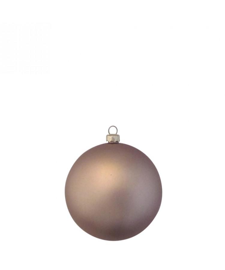 Sélect boules de noël 8cm dorée-1196