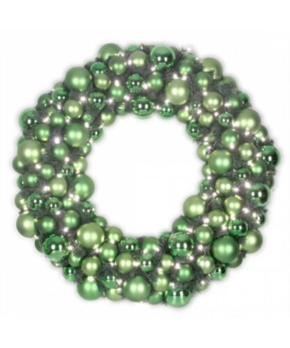 Couronne de luxe Refreshing green 75cm-0