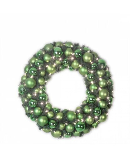 Couronne de luxe Refreshing green 50cm-0