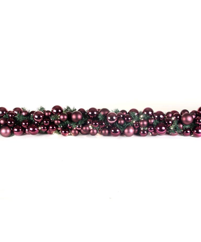 Guirlande de luxe Violet-Milka 200cm-1502