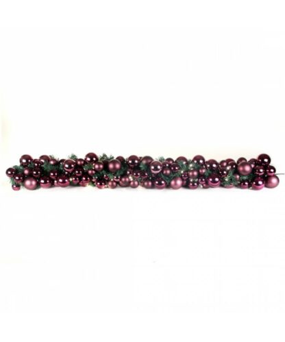 Guirlande de luxe Violet-Milka 200cm-0