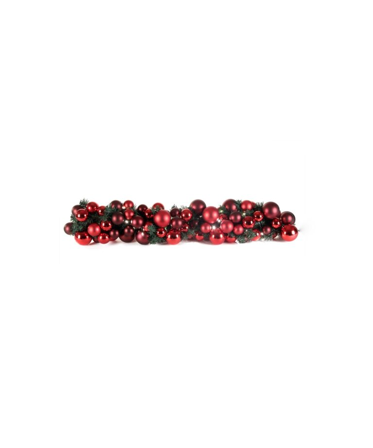 Guirlande de luxe Rouge Bordeaux 100cm-1503